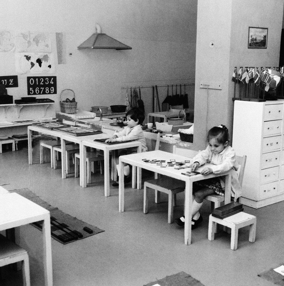 Scuola Montessoriana, 1970